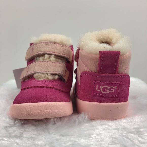 b84b0207bf1 UGG booties pink Pritchard shoes baby infant nib NWT